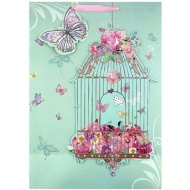 XL Gift Bag - Birdcage