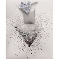 Occasions Gift Bag - Silver Diamond