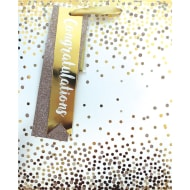 Occasions Gift Bag - Gold Confetti
