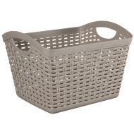 Malay Storage Hamper - Grey