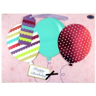 Luxury Gift Bag - Balloons
