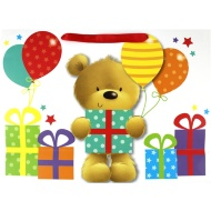 Luxury Gift Bag - Teddy Bear