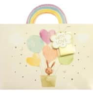Luxury Shopper Gift Bag - Rabbit