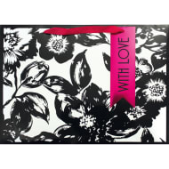 Luxury Shopper Gift Bag - Floral
