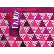 Luxury Shopper Gift Bag - Pink