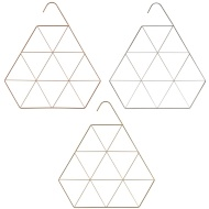 Metal Accessory Hanger - Triangle