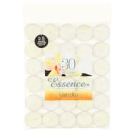Scented Tea Lights 30pk - Vanilla