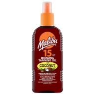 Malibu Bronzing Tanning Oil with Coconut Factor 15 200ml