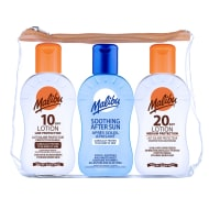 Malibu Sun Cream Travel Bag 3pk