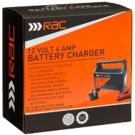 RAC 4 Amp Battery Charger