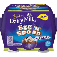 Cadbury Dairy Milk Egg 'n' Spoon with Oreo 4pk