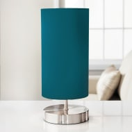 Florence Satin Table Lamp - Teal