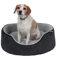 RSPCA Quilted Oval Foam Bed - Grey