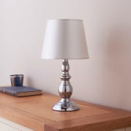 Harvard Table Lamp - Silver