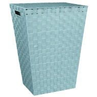 Woven Laundry Hamper - Duck Egg