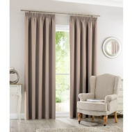 Silentnight Blackout Fully Lined Curtains 46 x 54