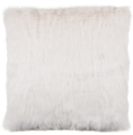 Gabriella Faux Fur Mink Back Cushion - Cream