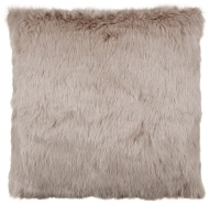 Gabriella Faux Fur Mink Back Cushion - Mink