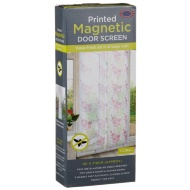 Printed Magnetic Insect Door Screen