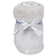 Silentnight Baby Badge Blanket - Grey