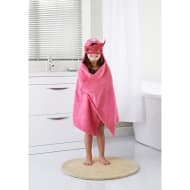 Kids Hero Hooded Bath Towel - Pink