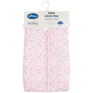 Silentnight Printed Baby Sleep Bag - Pink Stars