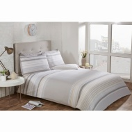 Striped King Duvet Twin Pack - Natural