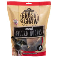 Gnash & Gnaw Meat Filled Hooves 4pk