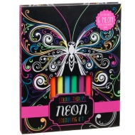 Neon Colouring Kit 7pc