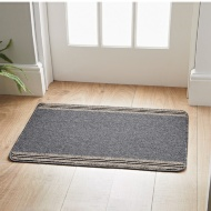 Lisbon Striped Washable Doormat