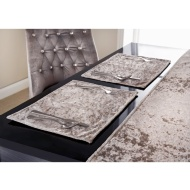 Crushed Velvet Placemats 2pk