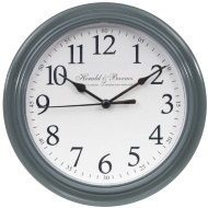 Classic Essentials Clock - Grey