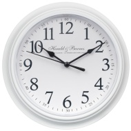 Classic Essentials Clock - White