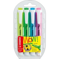 Stabilo Swing Cool Highlighters 4pk
