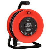 Eveready 4 Socket Extension Reel 20m