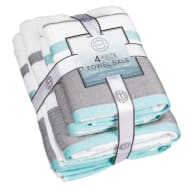 Serenity Towel Bale 4pc - Aqua
