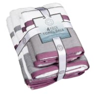 Serenity Towel Bale 4pc - Lavender