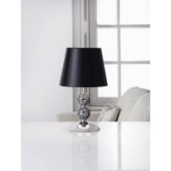 Zoe Mosaic Table Lamp - Black