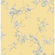 Arthouse Chinoise Wallpaper - Yellow