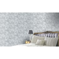 Arthouse Reverie Wallpaper - Silver