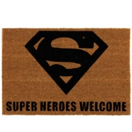 Superman Coir Doormat
