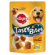 Pedigree Tasty Bites Chewy Cubes - Chicken 130g