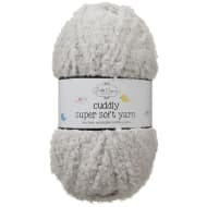 Cuddly Yarn - Light Grey