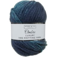 Ombre Knit Yarn 100g - Teal
