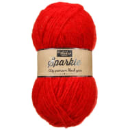 Premium Sparkle Yarn - Red