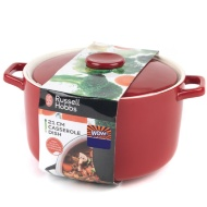 Russell Hobbs Casserole Dish 21cm - Red