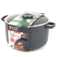 Russell Hobbs Casserole Dish 21cm - Charcoal