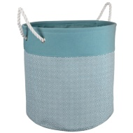 Oversized Diamond Laundry Hamper - Aqua