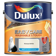 Dulux Easycare Matt Paint - Almond White 2.5L