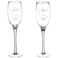 Happily Ever After Champagne Flutes 2pk